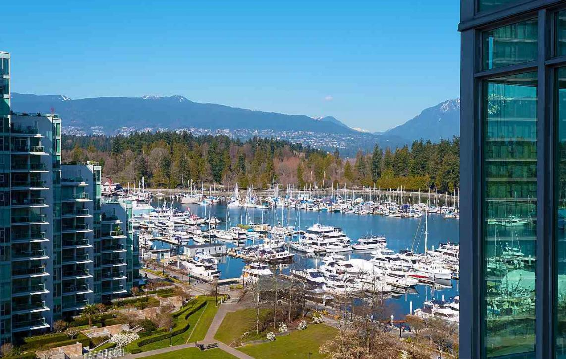 1201 - 1650 Bayshore Drive, Coal Harbour, Vancouver West